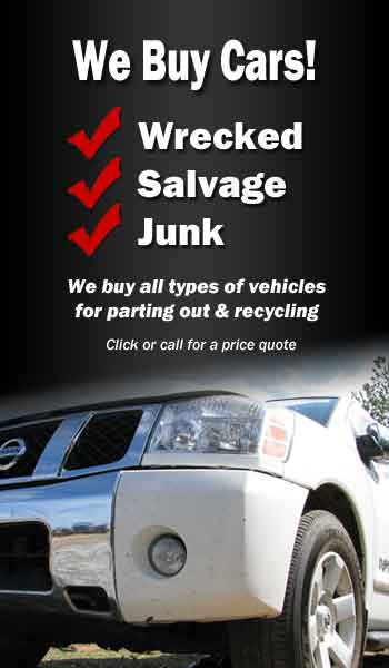Best Prices from Local Wrecked, Salvage, Junk Car Buyers in Iowa