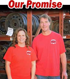 Our Promise to Used Auto Parts Customers in Iowa